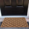Trellis Coir Outdoor Entrance Doormat - Coir