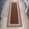 Brown Key Hardwearing Rug