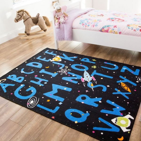 Kids Space Rug - Carousel