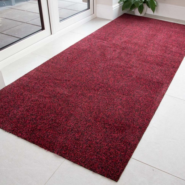 Red Durable Eco-Friendly Washable Mats - Hunter - Cut to Measure